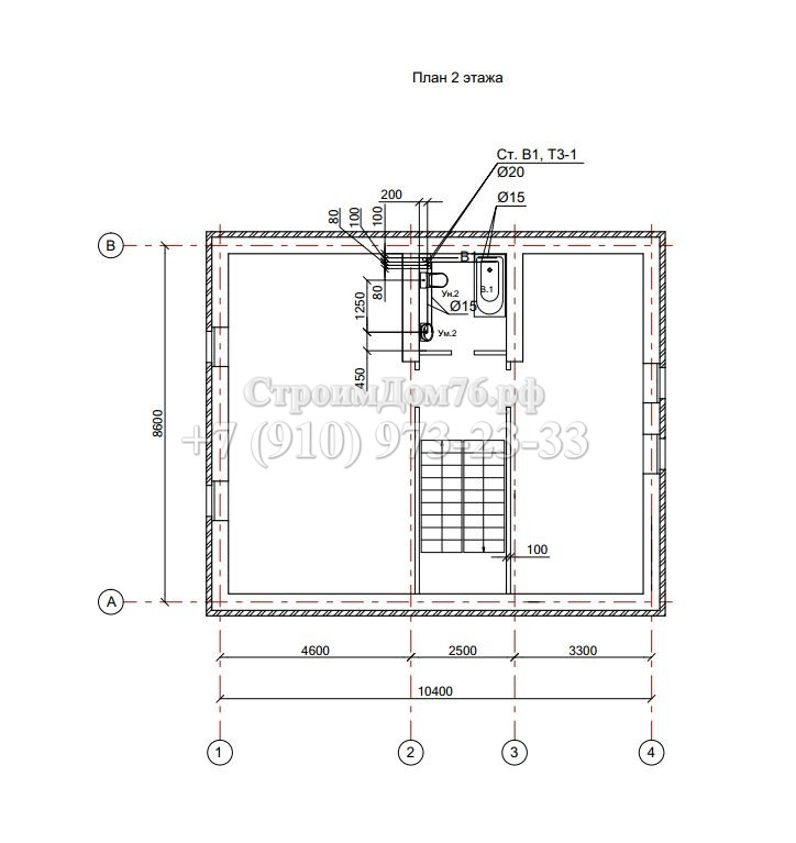 План 2-ой этаж