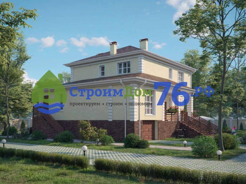 Проект каменного дома СД-76