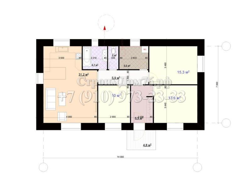Дом 92м2
