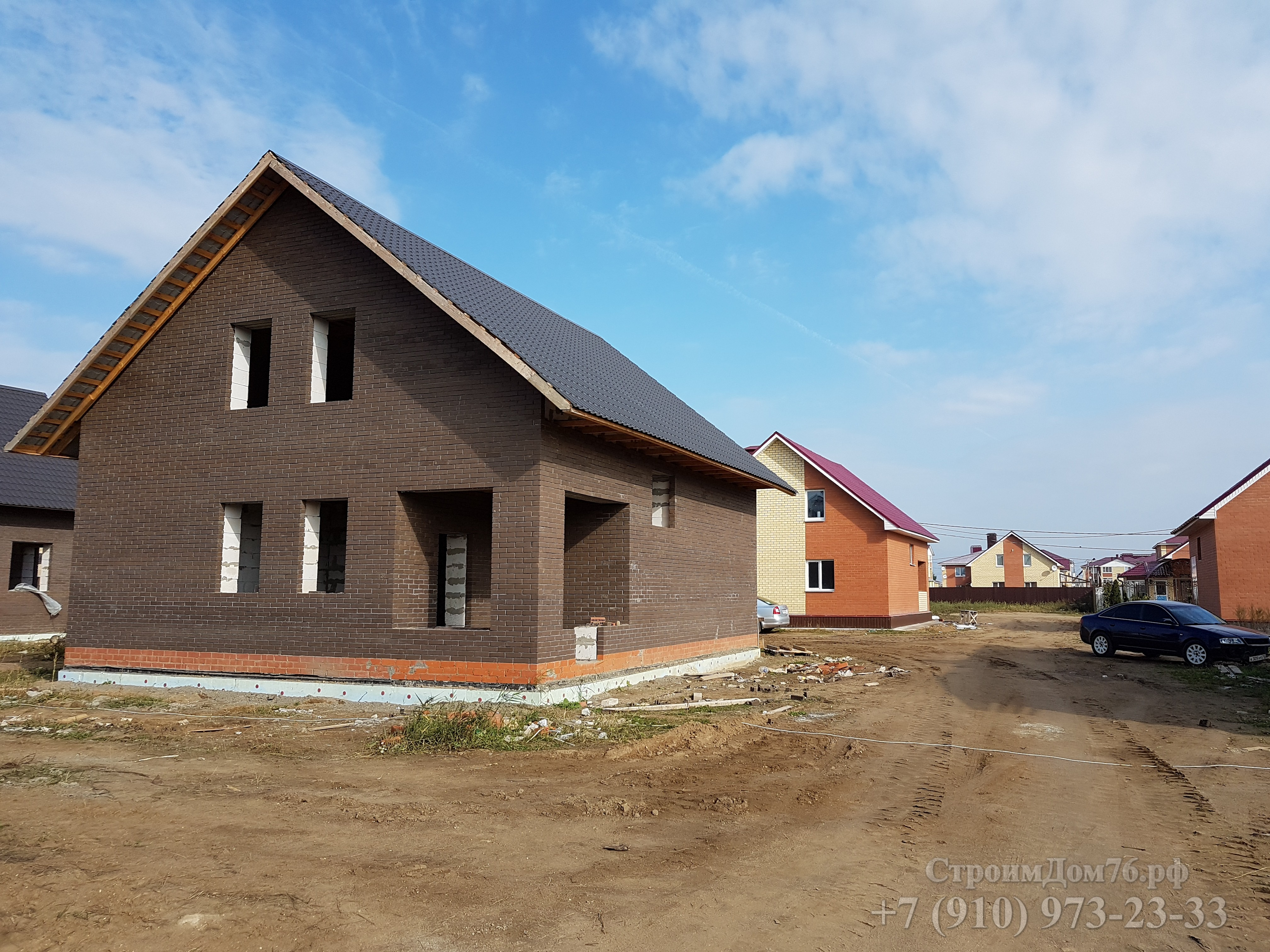 Строительство индивидуального дома город Ростов ЯО